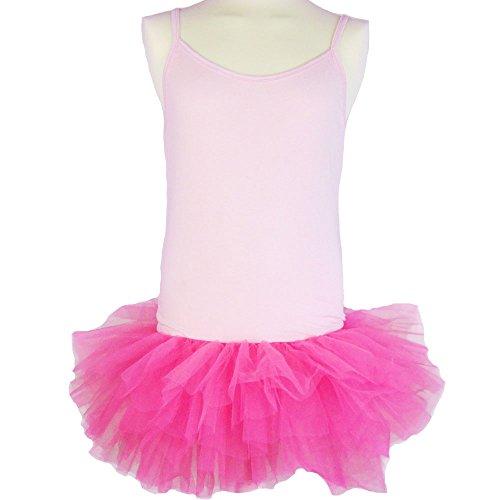 Partybob Männerballett Kostüm - Herren Ballerina Kleid (Rosa / Pink, Größe XL)