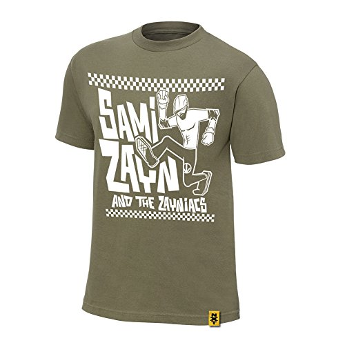 WWE -  T-shirt - Uomo verde small