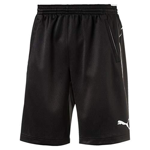 PUMA Kinder Hose Training Shorts Schwarz 128