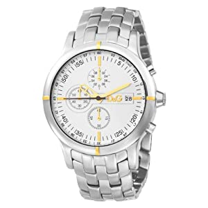 Dolce & Gabbana D CHR Man SS Case with IPG Indexes Silver DW0481 –