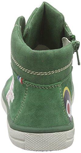Lurchi Spike, Baskets Basses garçon Grün (dark green 46)