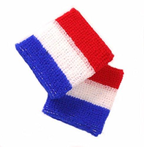 Schweißband/Armband/Handgelenkband NIEDERLANDE / HOLLAND / NETHERLANDS 1 Stück