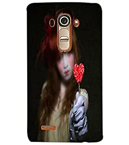 LG G4 SAD GIRL Back Cover by PRINTSWAG