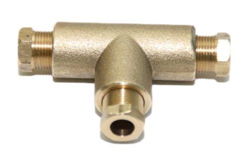 Gebraucht, T-Stück für Kupferleitung 6/6/6mm Autogas LPG gebraucht kaufen  Wird an jeden Ort in Deutschland