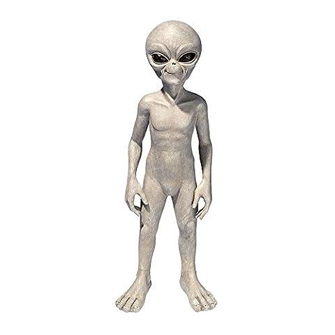 Alien Halloween Décorations - Design Toscano statue de l'alien extraterrestre venu