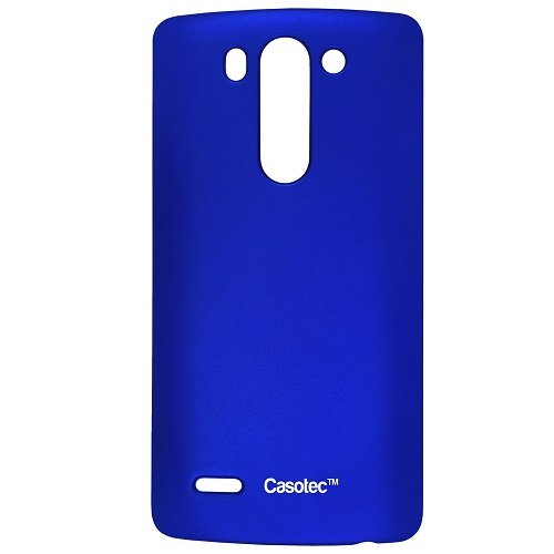 Casotec Ultra Slim Hard Shell Back Case Cover for LG G3 Beat - Deep Blue  available at amazon for Rs.125