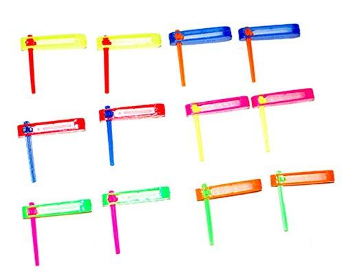 Confettery - Dekoration Party Mitgebsel Piñata Befüllung Krachmacher Rasseln 12 Stück, Mehrfarbig