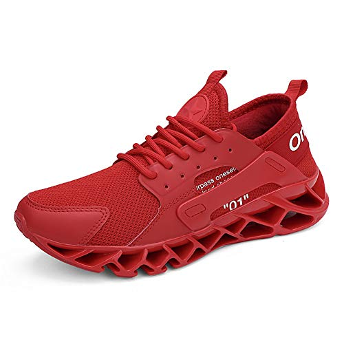 Zapatillas Deporte Hombre Zapatos para Correr Athletic Cordones Hombre Aire Libre y Deporte Transpirables...