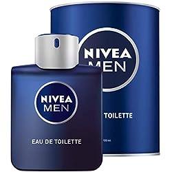 NIVEA MEN Eau de Toilette, Parfum pour Homme en Flacon sous Étui, 1 x 100ml