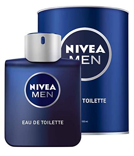NIVEA MEN Eau de Toilette (1 x 100 ml) für jeden Tag in Parfum-Flakon & NIVEA MEN Dose, frischer Herrenduft abgestimmt auf die NIVEA MEN Protect & Care Produkte