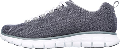 Skechers Synergy Safe and Sound, Scarpe Running Donna Grau