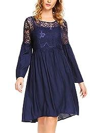 1c9ed022d8ec Suchergebnis auf Amazon.de für: Spitzenkleid Langarm - Kleider ...