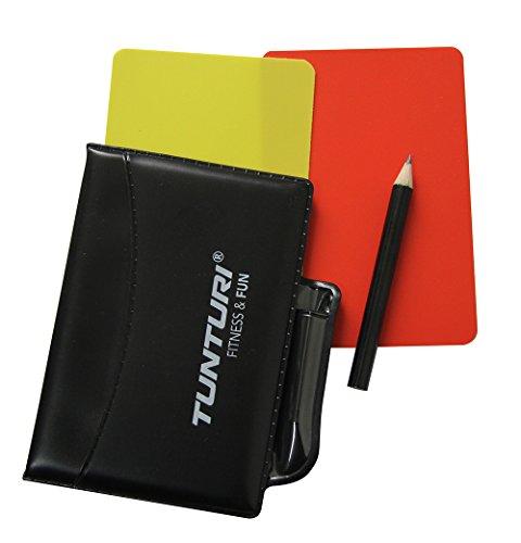 Tunturi Schiedsrichter Karten-Set, Mehrfarbig, one size