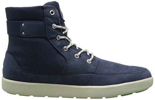 Helly Hansen Stockholm, Chaussures de Marche Nordique Homme Multicolore - bleu fonc/blanc