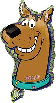 38 Zoll Scooby Doo Charakter Folie Ballon (CS77) (Scooby-doo-ballons)