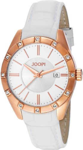 Joop! Women's Quartz Watch Emblem JP101022F05 with Leather Strap