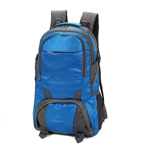 Zaino Da Esterno Borsa Da Viaggio Di Grandi Dimensioni Borsa Da Viaggio Borsa Da Viaggio Borsa Impermeabile Baggage Bag,UpgradedVersionOfDeepPurple80Liters SmallSectionOfDarkBlue
