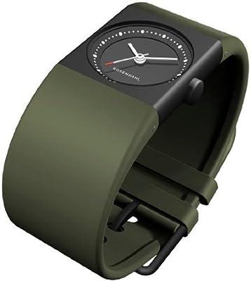 Rosendahl 43263 - Reloj de mujer de cuarzo, correa de caucho color verde de Rosendahl