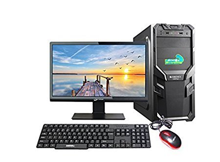 Assembled Desktop With Core 2 Duo, G31 Motherboard, 4gb Ddr2 Ram, 1tb Sata Hdd, Lg Dvd Rw, 18.5