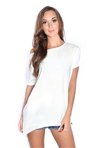 AE - Camicia - Assimetrico -  donna Bianco