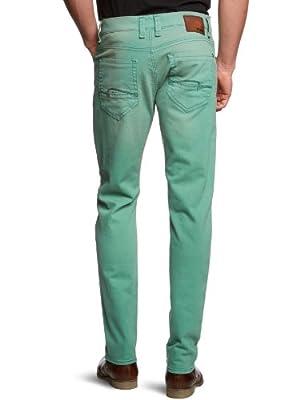 Mavi Men's Yves Nile Green Skinny Fit Jeans