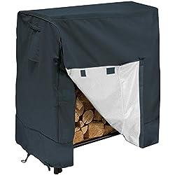 Cubierta para armario de leña de jardín, resistente al polvo, impermeable, a prueba de humedad, cubierta de tela resistente a los rayos UV, multicolor