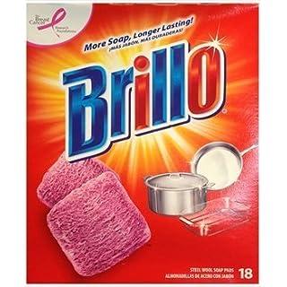 Brillo Steel Wool Soap Pads 18 ct by Brillo