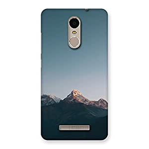 Neo World Mountains Back Case Cover for Xiaomi Redmi Note 3