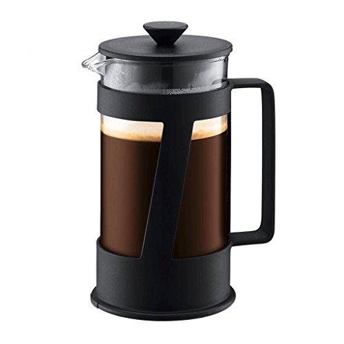 Cafetera ZHAOJING Ley Presión Café Potencia de Vidrio Importado Filtro de presión de Calor Tetera de pequeña Capacidad 350 ML