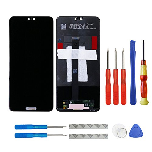 LCD Display für Huawei P20 Screen Touch Ersatzteil Reparatur Schwarz with Tools Touch-screen-tools