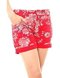 19a2b795658154 Suchergebnis auf Amazon.de für: rote shorts damen - Easy Young ...