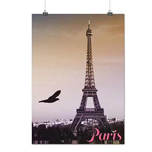 Weiblich Kostüm Frankreich (Paris Liebe Foto Mode Paris Frankreich Symbol Mattes/Glänzende Plakat A3 (42cm x 30cm)  )