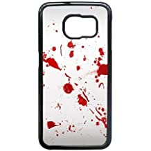 Samsung Galaxy S6 Edge case , Dexter-Blood Cell phone case Black for Samsung Galaxy S6 Edge -BBNA7848073