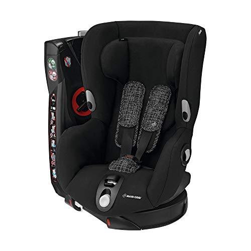 Maxi-Cosi Axiss, drehbarer Kindersitz, Gruppe 1 Autositz (9-18 kg), nutzbar ab 9 Monate bis 4 Jahre, black grid