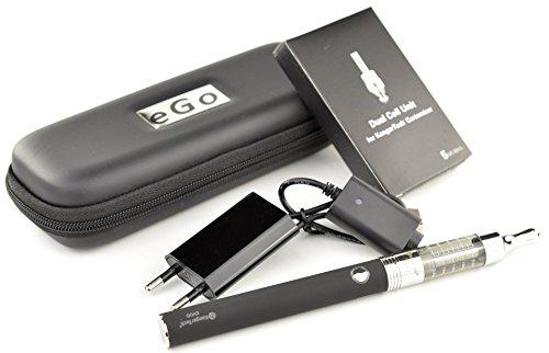 Kanger - Starterset (M) - e-Zigarette - EVOD Akku 1.000 mAh & T3D Dual Coil Clearomizer (schwarz)