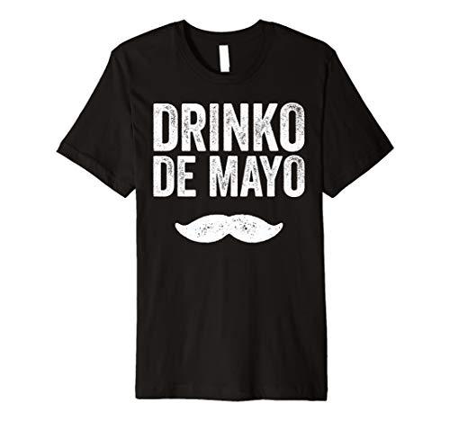 Drinko De Mayo T-Shirt Funny Cinco De Mayo Party Geschenk