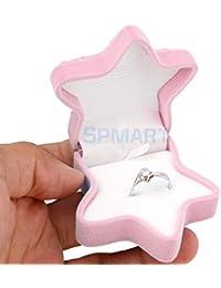ELECTROPRIME Starfish Wedding Present Storage Small Gift Box Ring Jewelry Velvet Case Holder