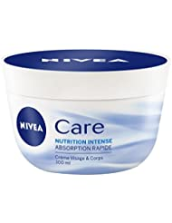 Nivea Care Crème Visage et Corps Nutrition Intense 100 ml - Lot de 2
