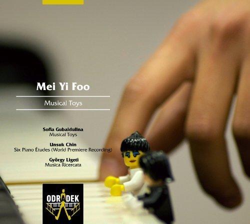 Gubaidulina: Musical Toys; Chin: Six Piano Etudes; Ligeti: Musica Ricercata by Unknown (2013) Audio CD