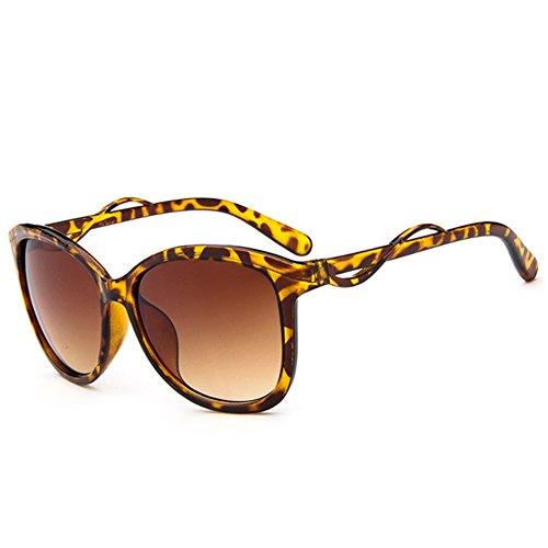 Z-P New Vintage Elegant For Women Reflective UV400 Two-color Sunglasses 55MM