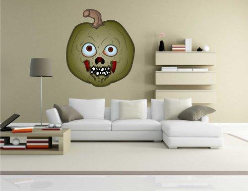 Indigos KAR-Wall-PUMPKIN-003-61 Wandtattoo Pumpkin - Kürbis 03 - Halloween - Wandaufkleber 61 x 70 ()