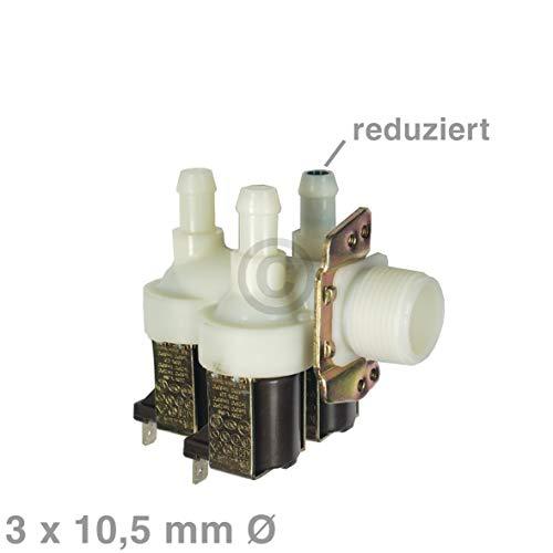 Magnetventil 3fach Ventil für Miele Waschmaschine W803 W804 W820 W914 ersetzt 1678013 (Trockner Und Reparatur Waschmaschine)
