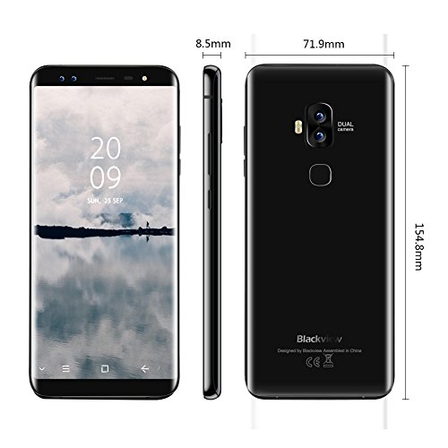 Blackview S8 black
