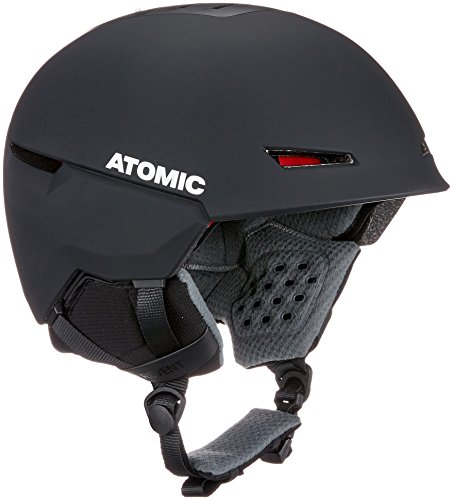 Atomic, Damen/Herren All Mountain Ski-Helm, Revent+ , Live Fit, Größe L, Kopfumfang 59-63 cm, Schwarz, AN5005458L