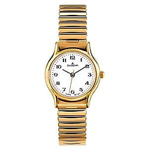 Dugena Damen-Uhren Rund Analog Quarz Edelstahl 32001999
