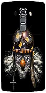 Snoogg Evil Clown Soldier 2625 Designer Protective Back Case Cover For LG G4