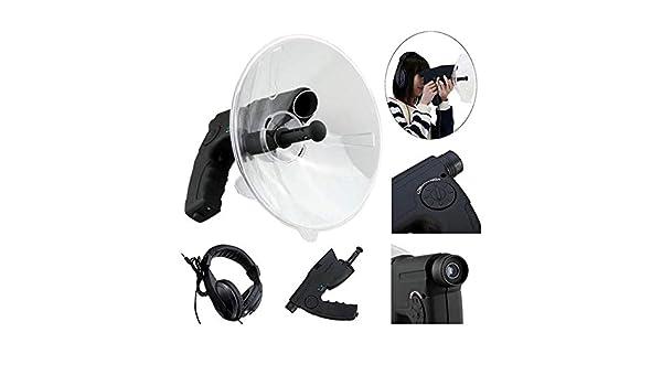 Casque pour Nature Scientific Explorer Dispositif D/écoute Amplificateur De Bruit 8X T/élescope Monoculaire Amplificateur Audio Oreille MY-COSE Microphone Parabolique Bionic Ear