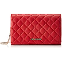 317dccd71c48 Love Moschino Borsa Nappa Quilted Pu Rosso, Sacs portés épaule femme, Rouge  (Red