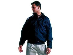 """Dickies Workwear Lewis Waterproof Jacket (XXX-Large Chest 56""""-58"""", Navy Blue)"""