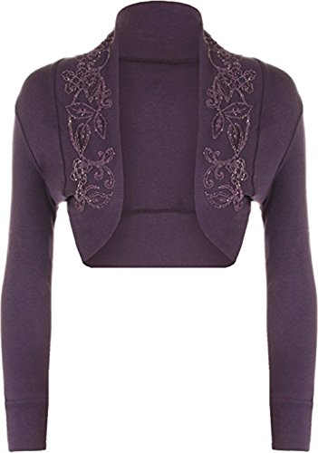 Islander Fashions - Boléro - Femme Violet